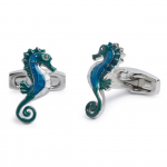 Colorful Seahorse Cufflinks
