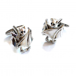 Closed Wing Bat Cufflinks