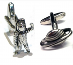 Astronaut & Planet Cufflinks