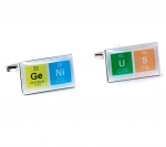Genius Chemical Table Cufflinks