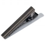 Gun Metal Hatch Marks Tie Bar