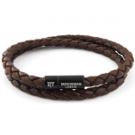 Brown Chelsea Wrap Bracelet