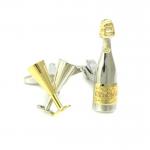Champagne & Flutes Cufflinks