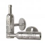 Sterling Vintage Wine Bottle Cufflinks