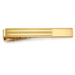 23 Karat Gold Engravable Tie Bar for your holiday party