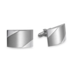 Stainless Steel Rectangle Cufflinks