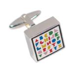 Alphabet Cufflinks - have fun at work!