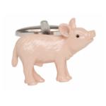 Pink Pig Cufflinks