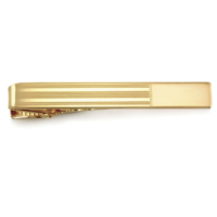 23 Karat Gold Engravable Tie Bar