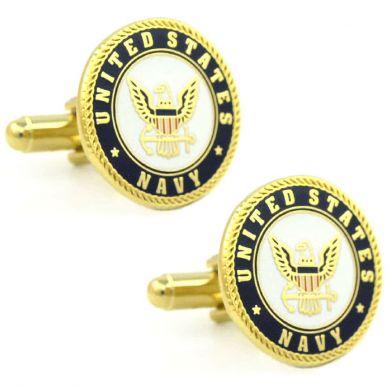 American Heroes Patriotic US Army Cufflinks Sterling Silver