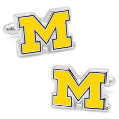 University of Michigan Wolverines Cufflinks by Smathers /& Branson