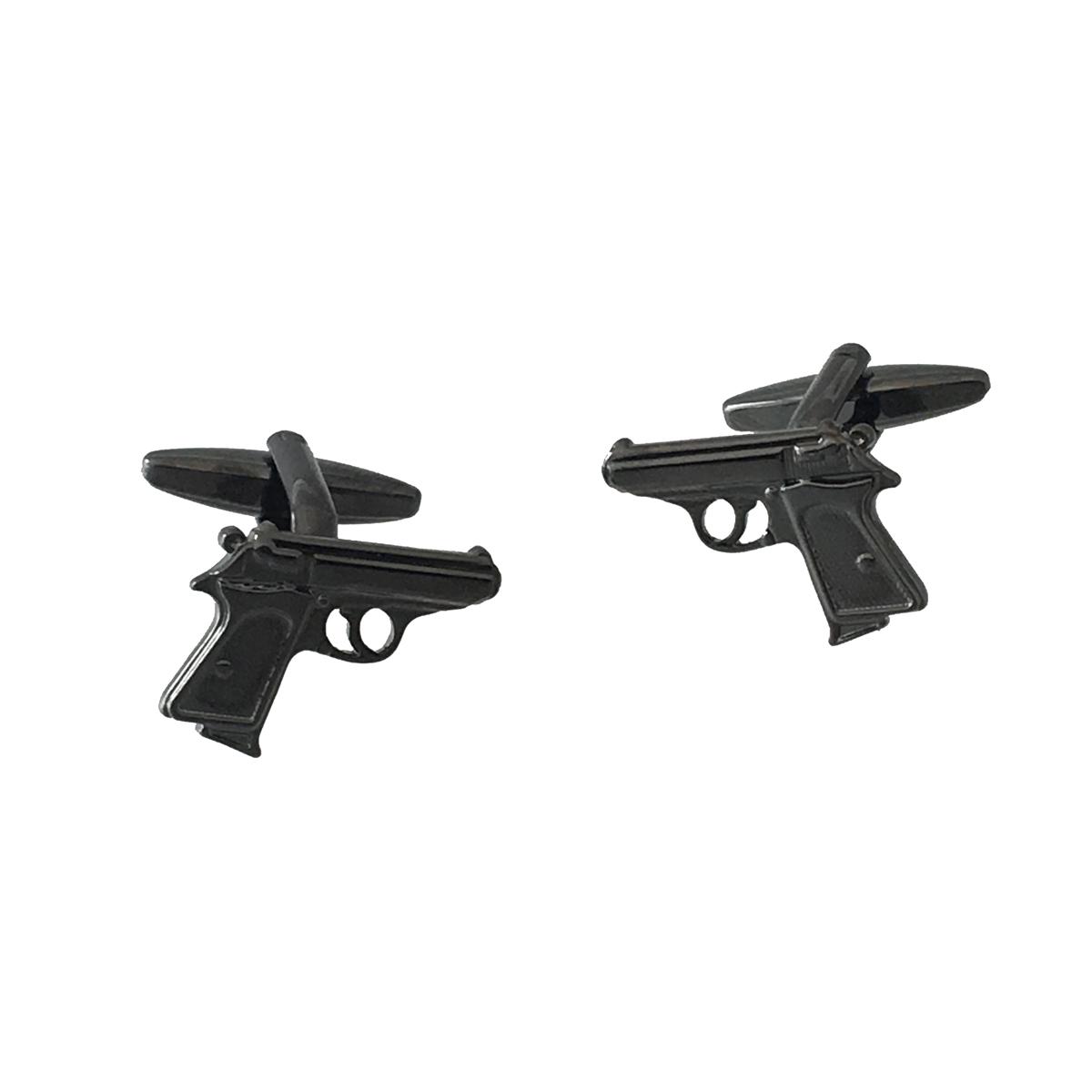 Bullet in Gun Chamber Cufflinks in a Personalised Cufflink Box