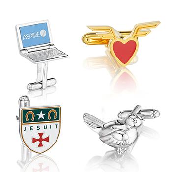 Custom Gold Cufflinks Women/'s cufflinks Personalized cufflinks Folk cufflinks for Women ladies cufflinks Engraved Initials