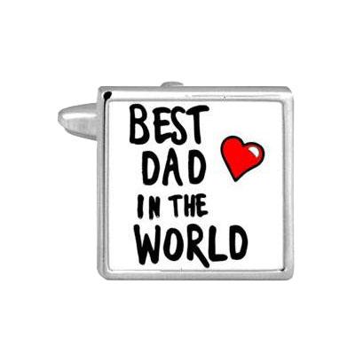 Best Dad Cufflink Set