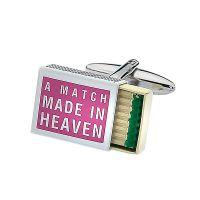 A Match Made In Heaven Cufflinks