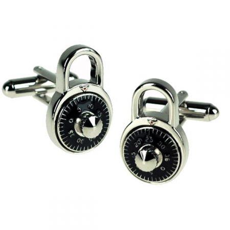 9344b2e45806 Combination Lock Cufflinks