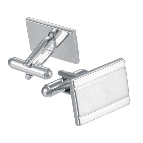 Silver Finish Rectangular Engravable