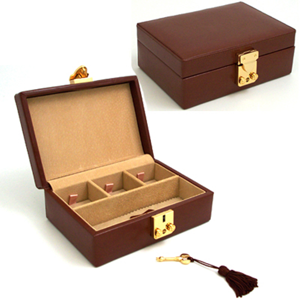 Cufflink and Jewelry Case