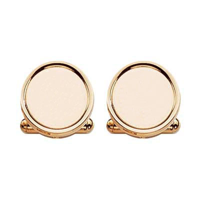 23 Karat Gold Ring Engraved Cuff Links Cufflinks Depot