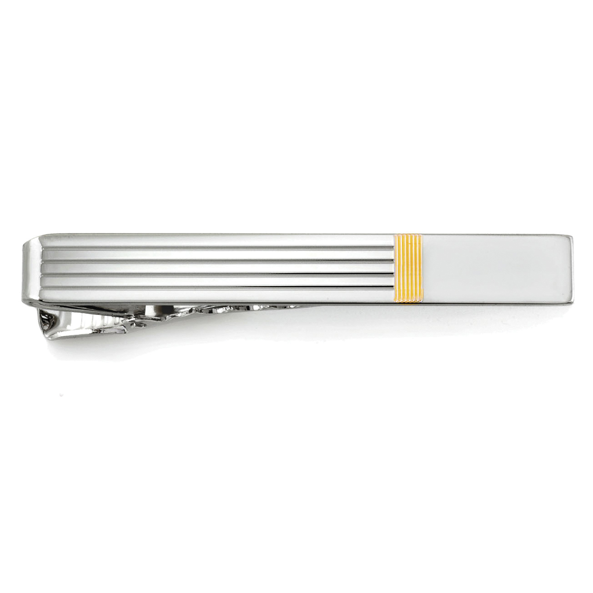 Vintage Tie Bar Tie Clip Fancy /& Interesting Etched Center Beautiful Border Gold Tone