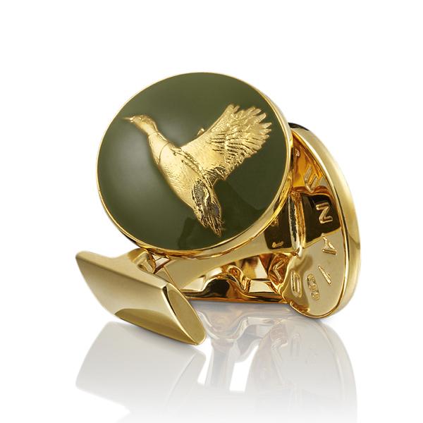 Mallard Cufflinks  Duck Cufflinks  Hunting Gifts  Duck Jewelry  Duck Hunting Gift