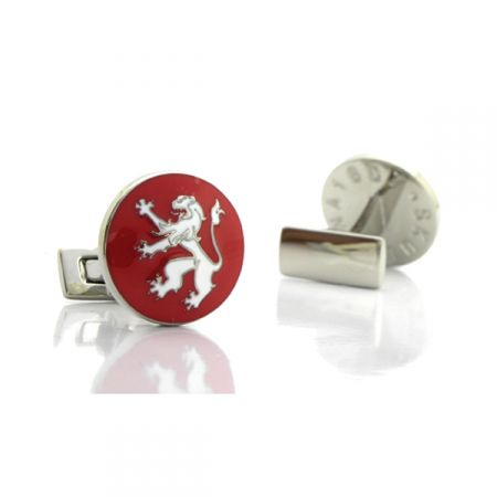 Mens Gold Lion /& Crown Cufflinks /& Gift Box By Onyx Art